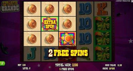 Spinata Grande slot fra NetEnt - spil gratis online
