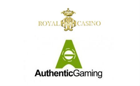 Authentic Gaming Royal Casino Group