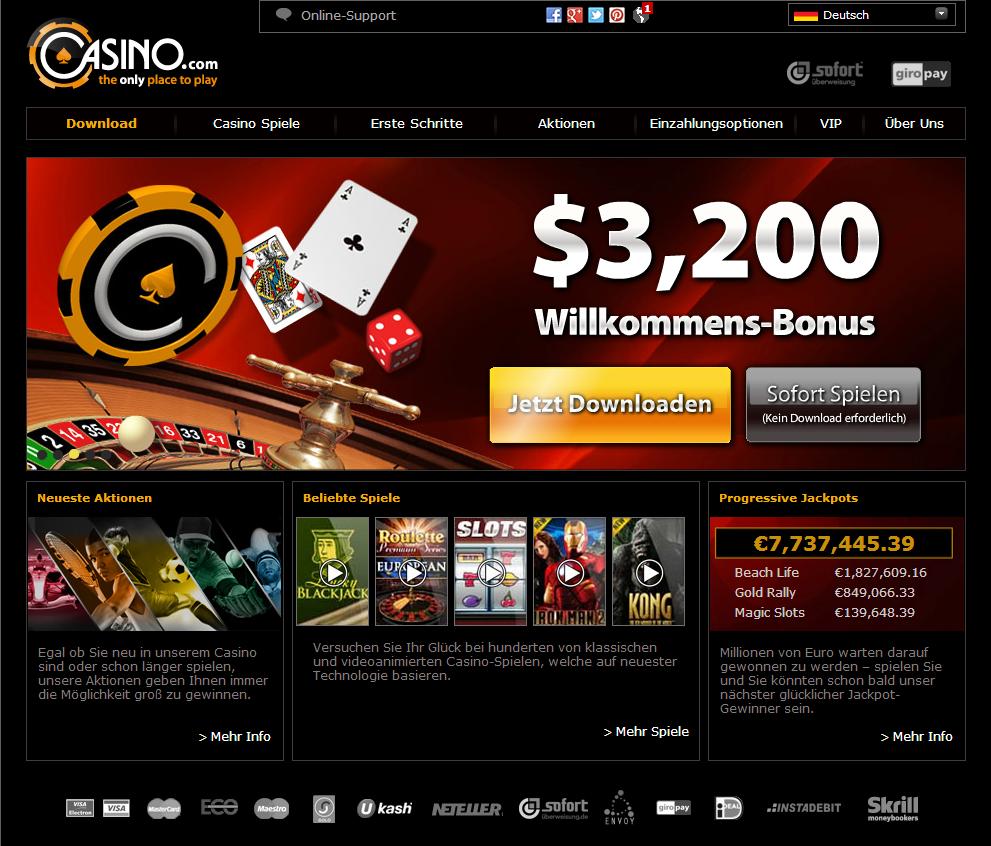 Online Casino Alles Verspielt