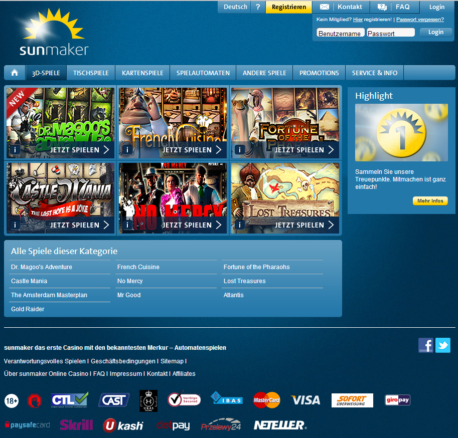 Bewertung Online Casino