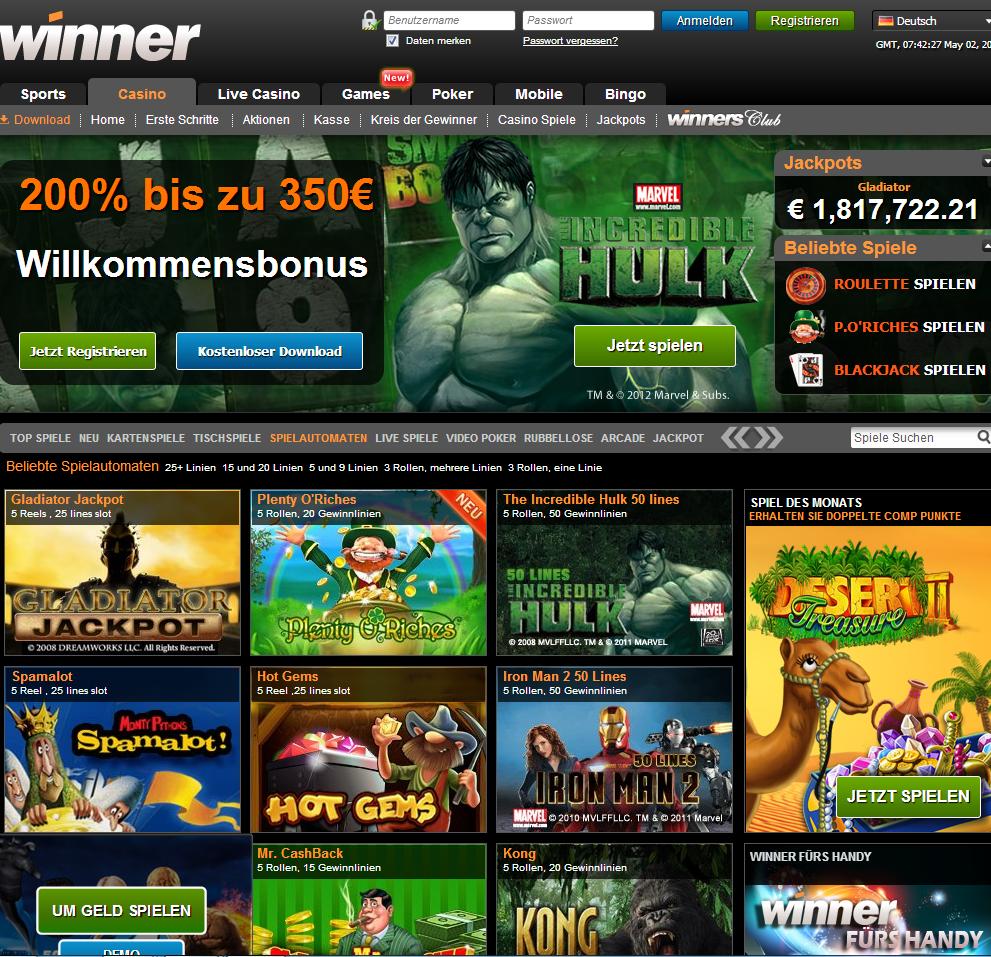 online casino winner umsonst-spielen.de
