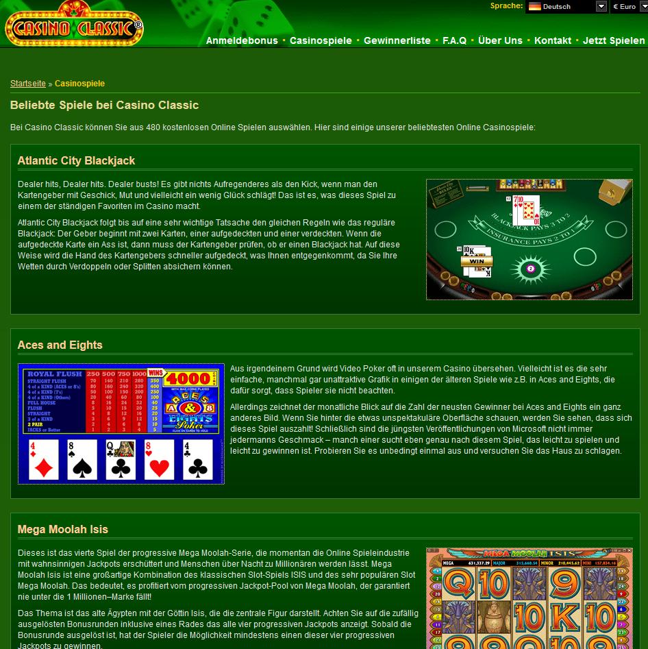 Casino Adrenaline Online Bewertungen mit Promotionen und Boni