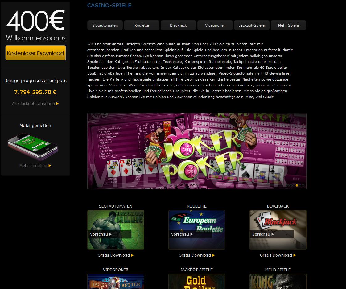 casino las vegas online jetzt speilen