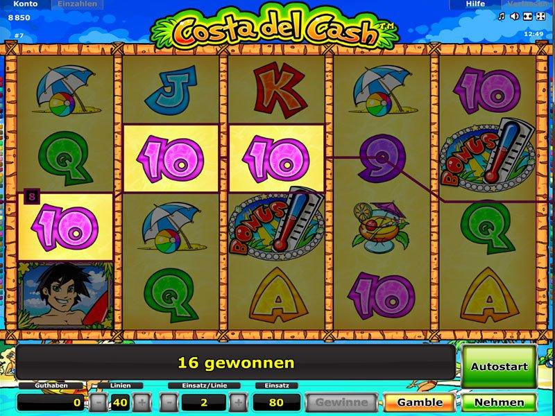 Spiele Costa Del Cash - Video Slots Online