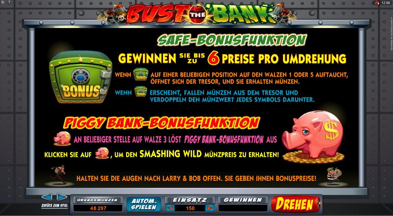 Bank Spiele