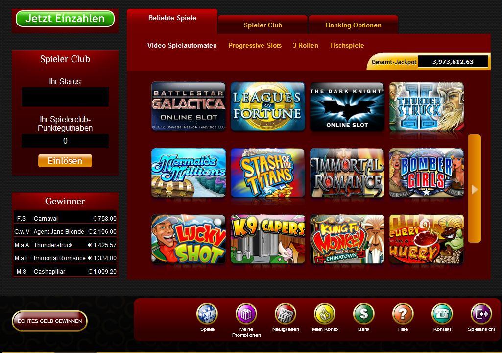 online casino ohne einzahlung und download