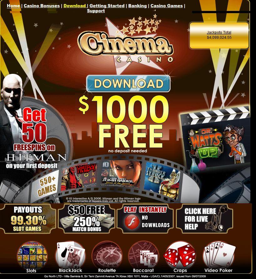 cinГ©ma casino