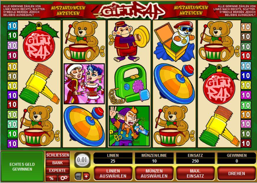 Gift Rap slot - spil gratis Microgaming Casino spil Online