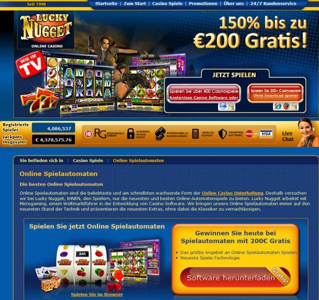 Lucky Nugget Casino Bewertung