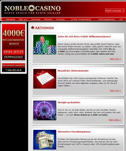 Noble Casino Geld Verdienen