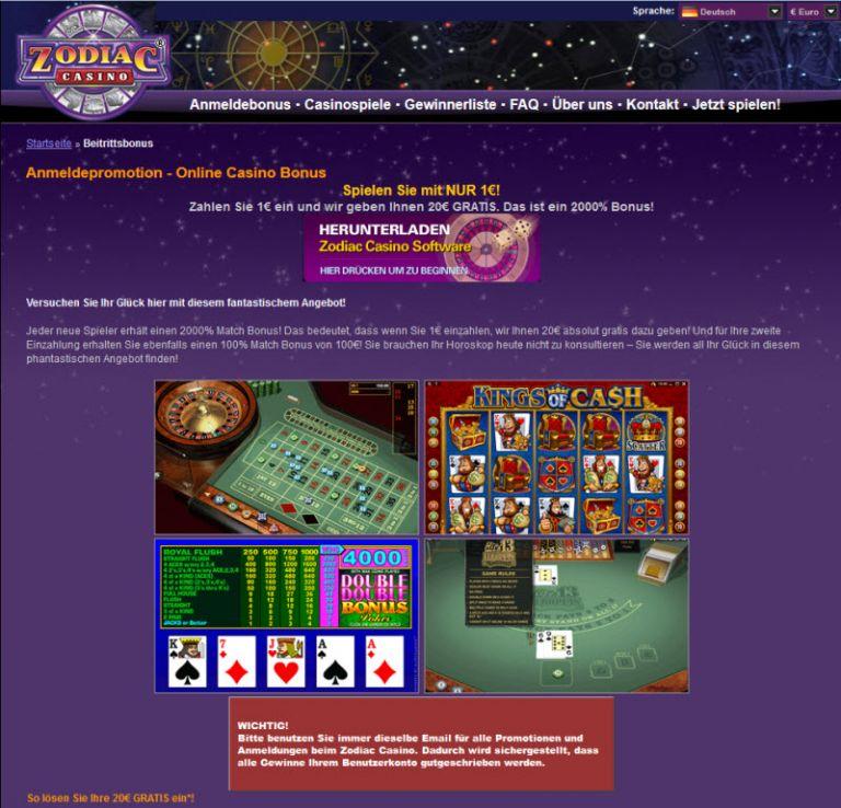 Zodiac Casino Bestes Spiel