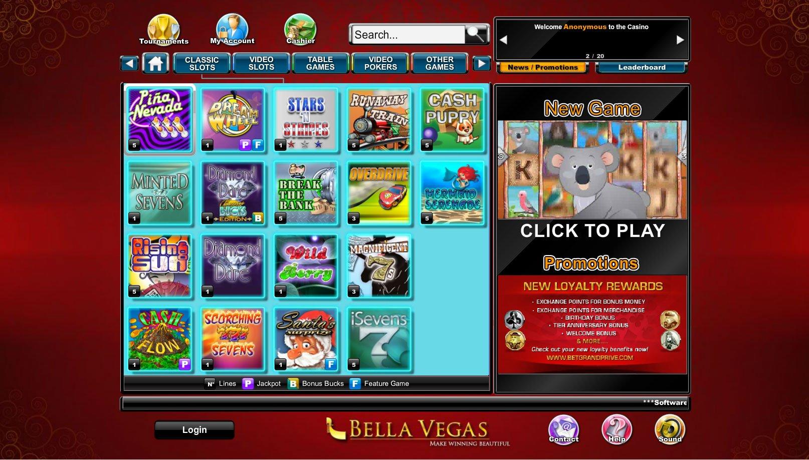 Casino bonus 2021