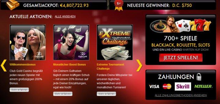 club gold casino bewertung