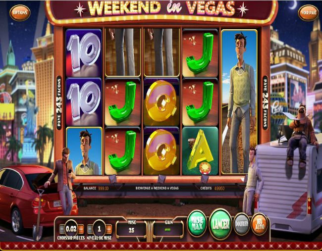 weekend in vegas spielen