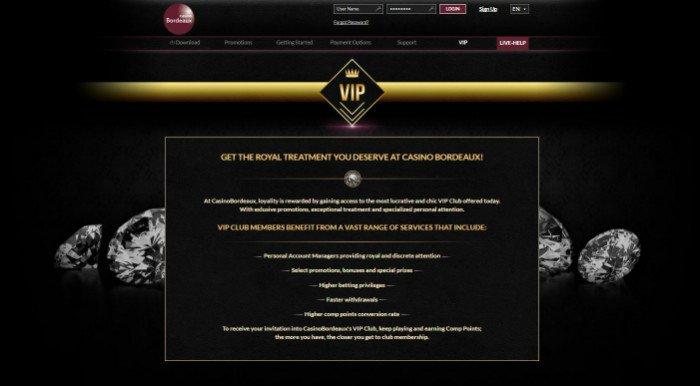 Bordeaux Casino Online