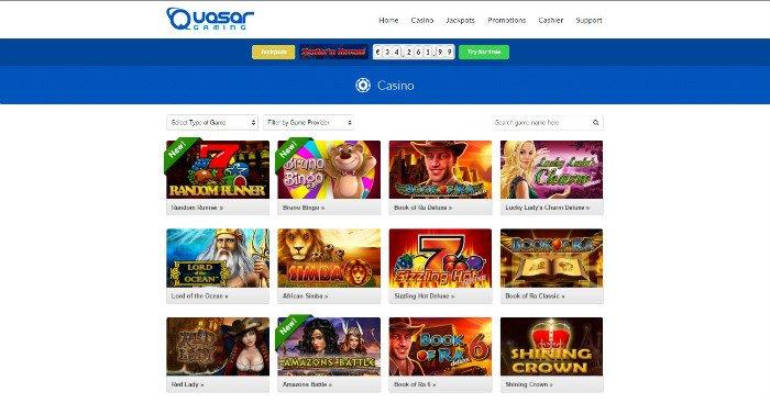 Quasar Gaming Schweiz