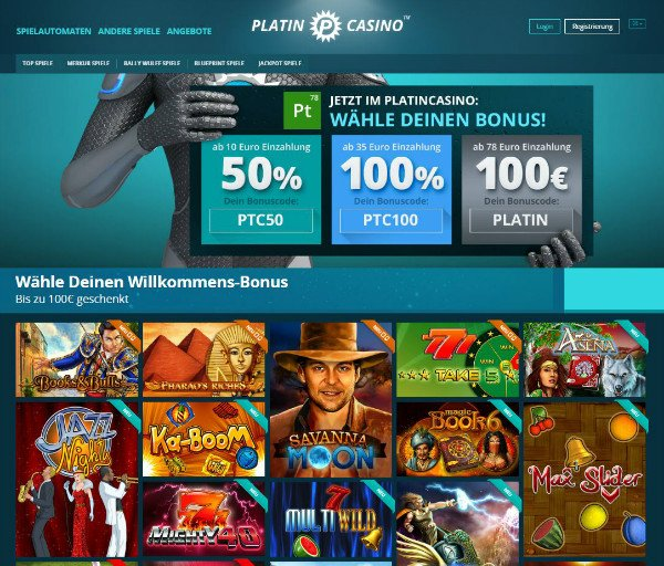 platin casino bewertung