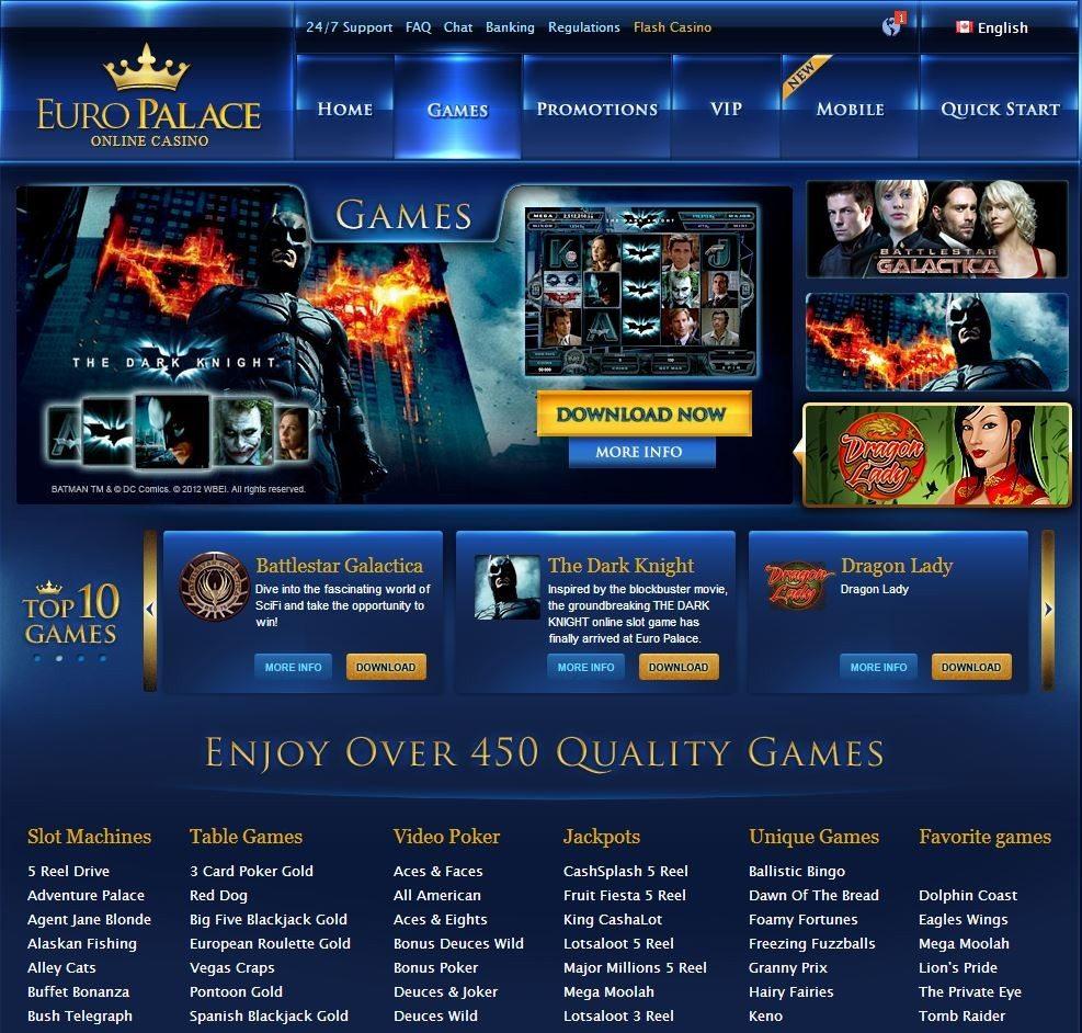 Euro Palace Casino Ligne