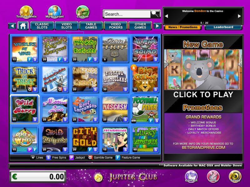 Club Jupiter Casino