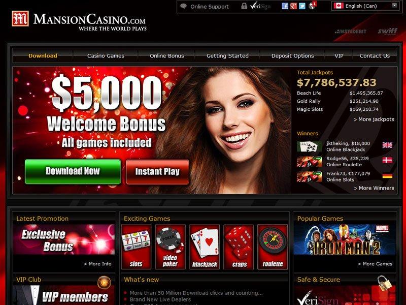 mansion online casino casino gratis online