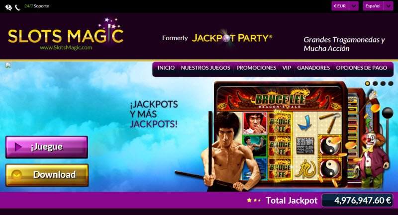 slots magic casino login