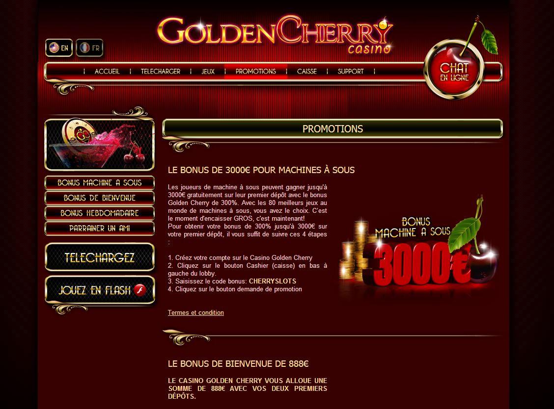 cherry gold casino login