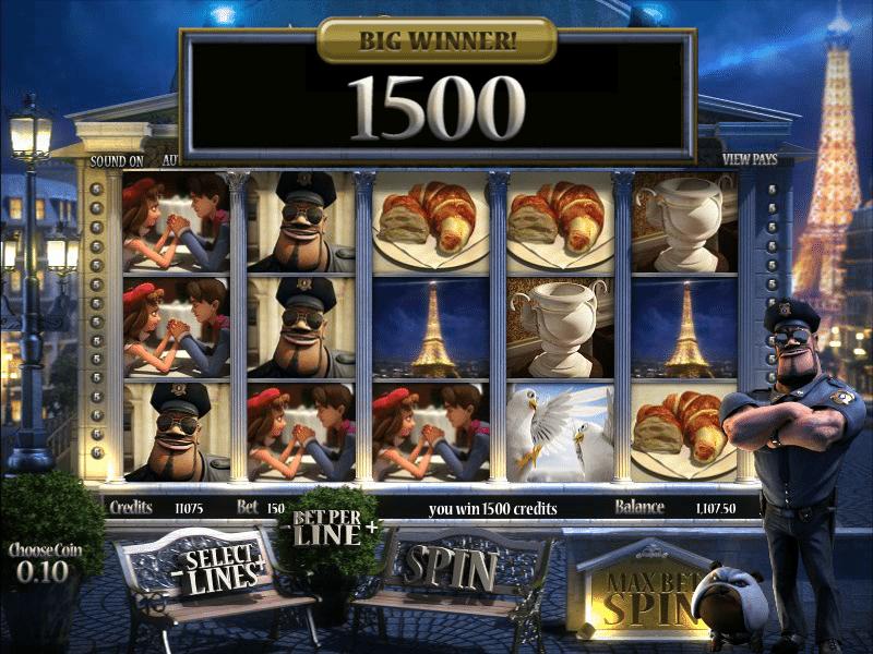 Machine à sous A night in Paris gratuit dans BetSoft casino