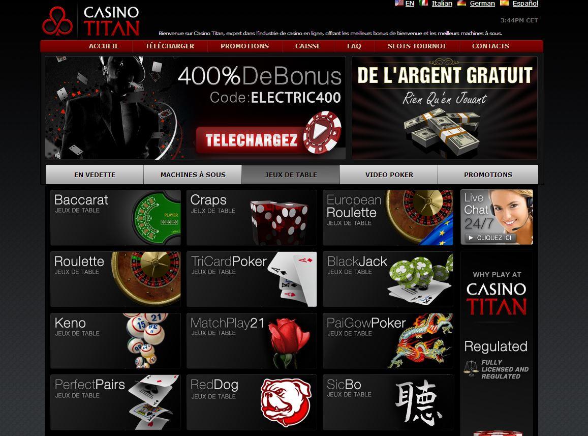 Bonus gratuit casino titan casino coupon las printable vegas
