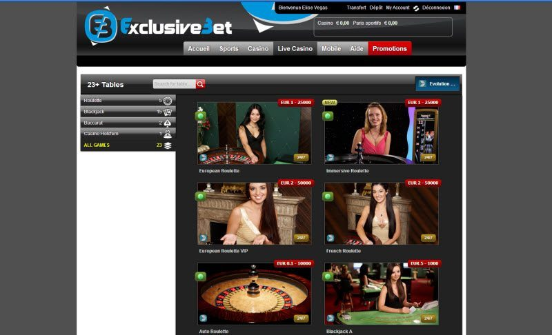exclusive bet casino