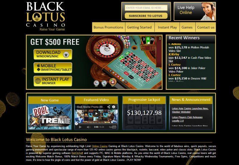 Testez Le Black Lotus Casino En Ligne Maintenant