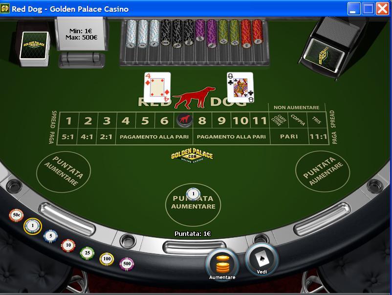 Gioca a Red Dog Poker su Casino.com Italia