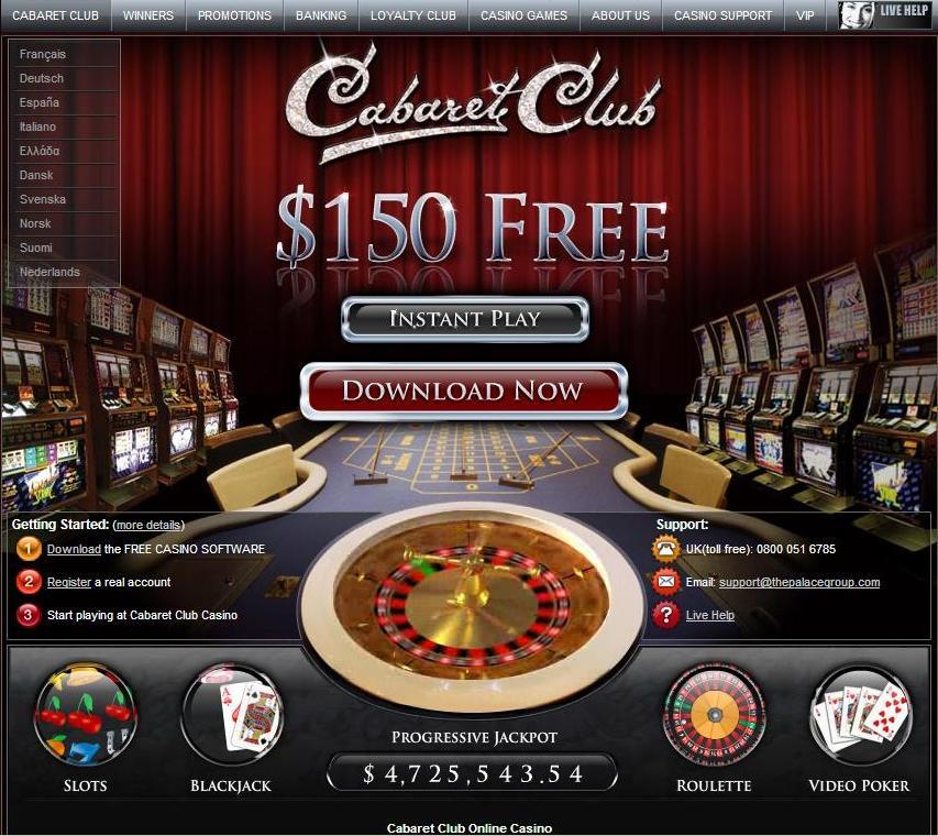 cabaret club casino recensione