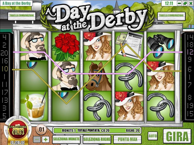 A Day At The Derby Slot Machine