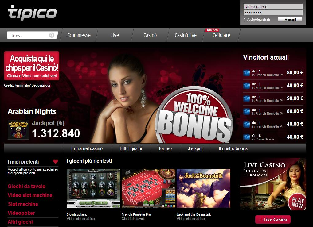 Tipico Casino Störung