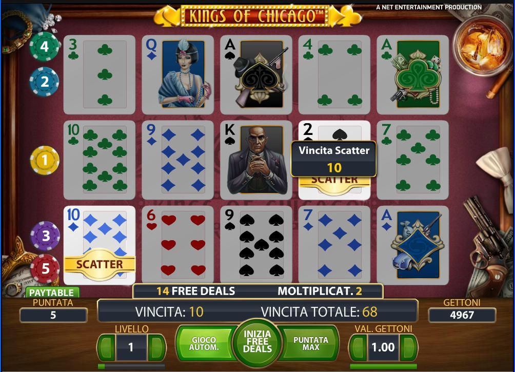Kings of Chicago Slot Machine