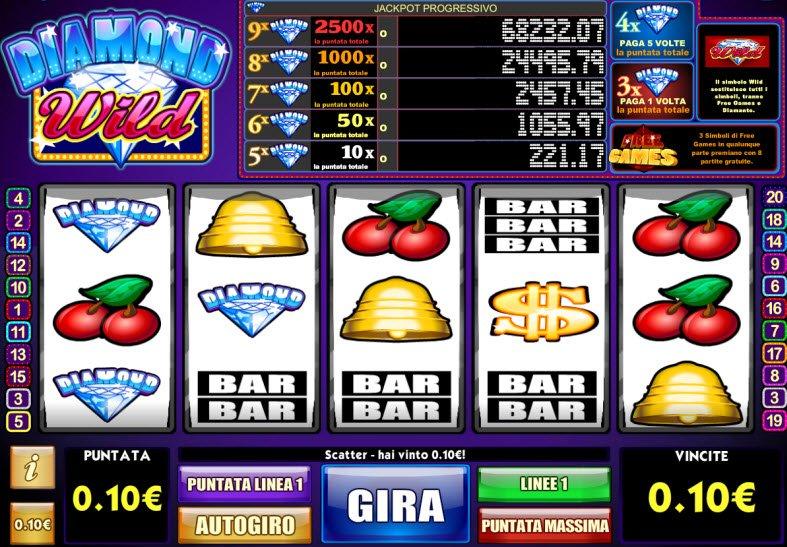 Diamond Wild Slot Machine Online ᐈ iSoftBet™ Casino Slots