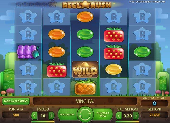 Reel Rush Slot Machine Online ᐈ NetEnt™ Casino Slots