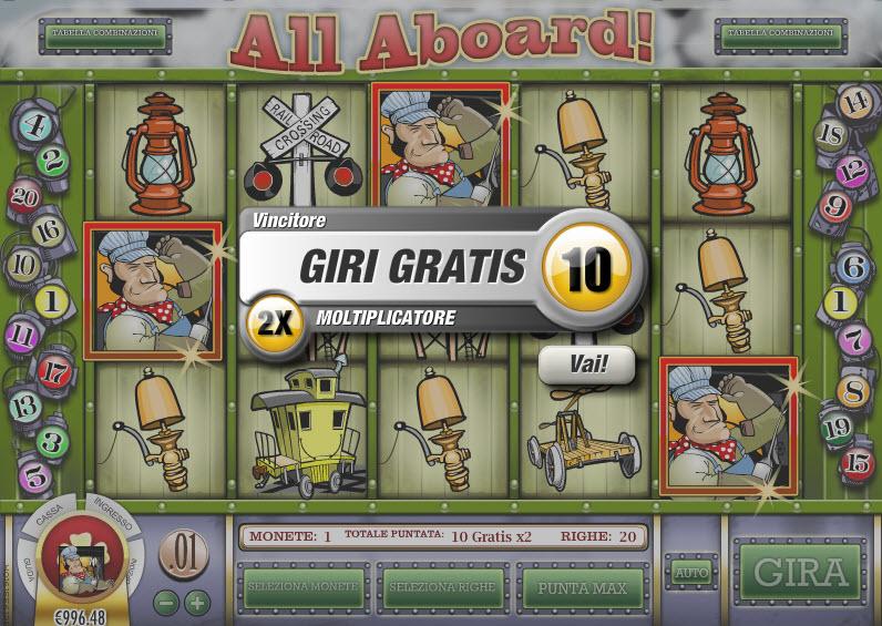 All Aboard Slot Machine