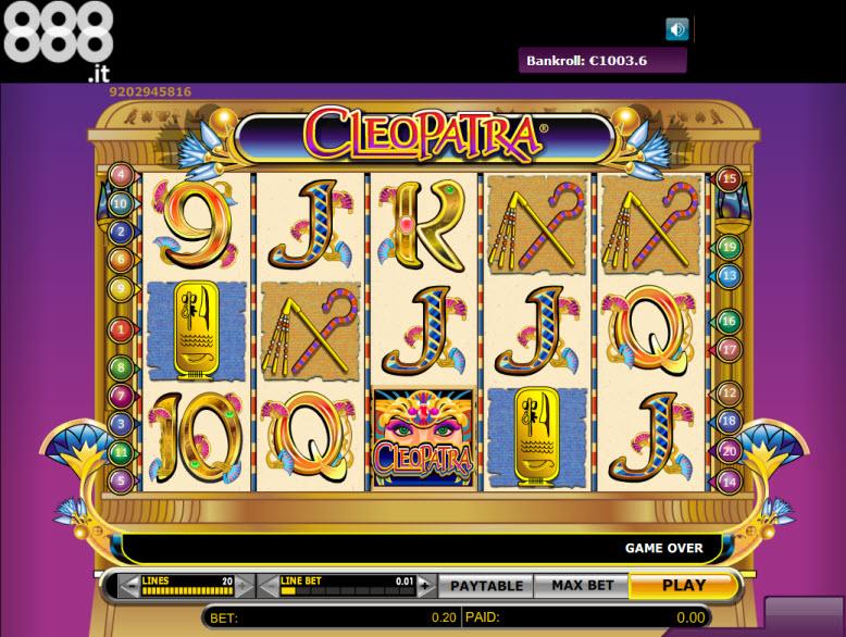 888 casino cleopatra