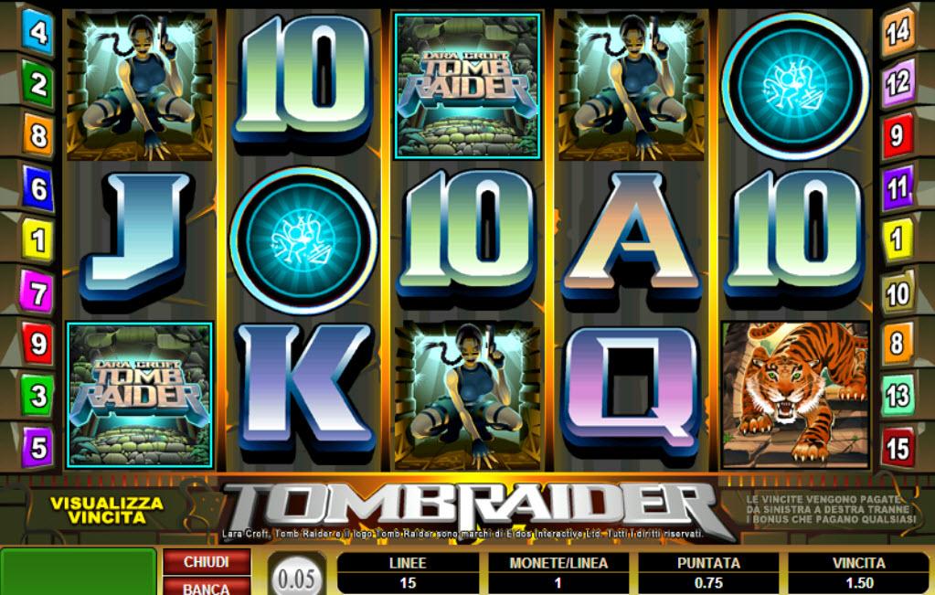 Tomb Raider Slots Game