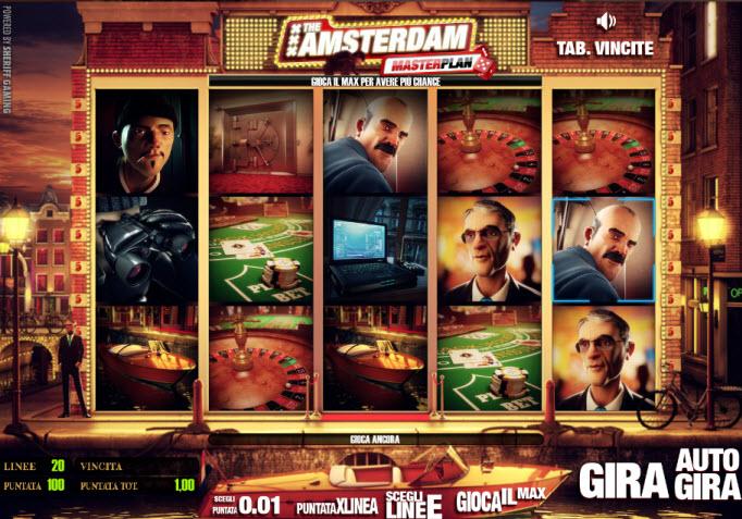 The Amsterdam Masterplan Slots - Spielen Sie Casino-Slots gratis