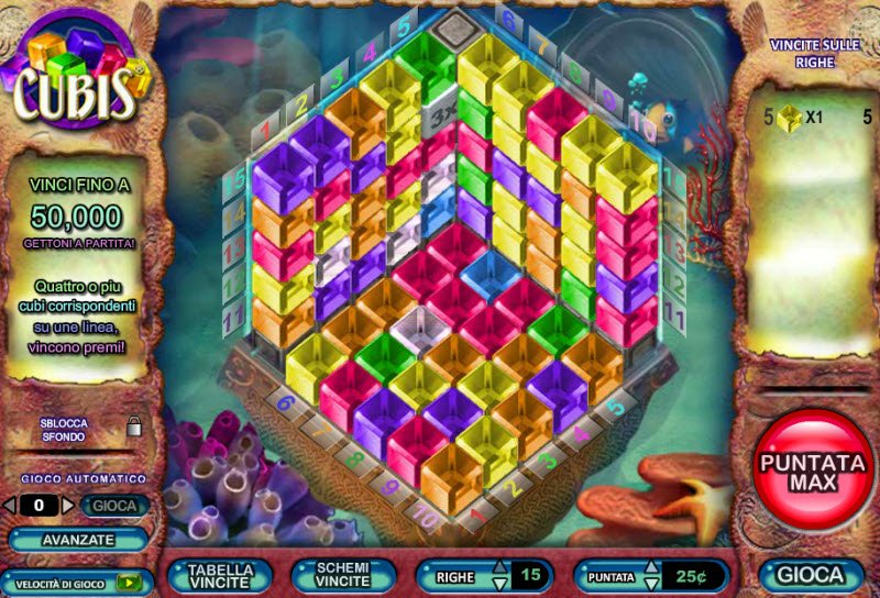 Cubis Slot Machine