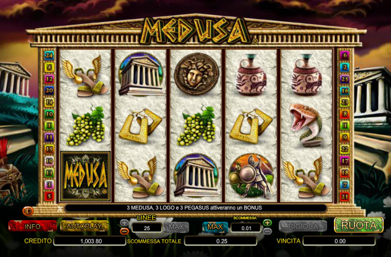 Medusa Slot Machine