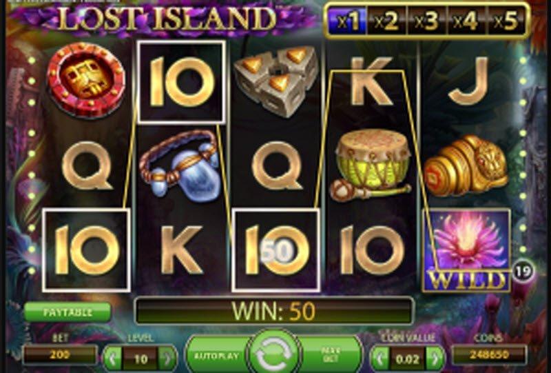 Lost Island slot – spil NetEnt demo gratis