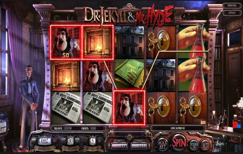 Dr. Jekyll & Mr. Hyde Slot Machine