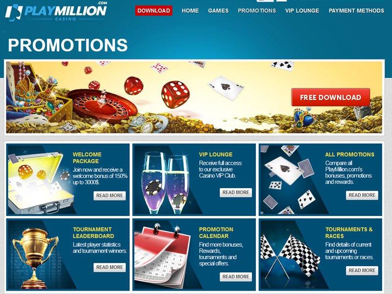Playmilion Casino