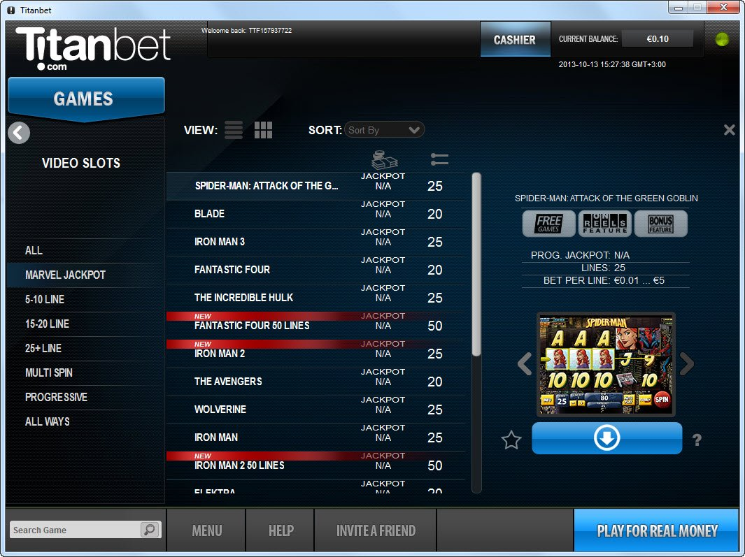 Titanbet Casino Review