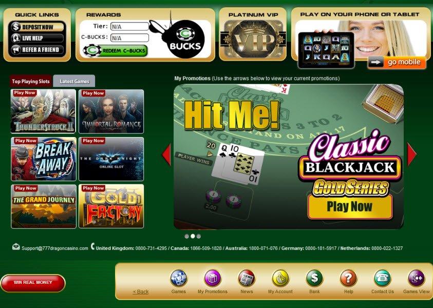 777 Casino Dragon