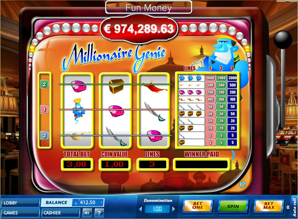 Red baron slot machine