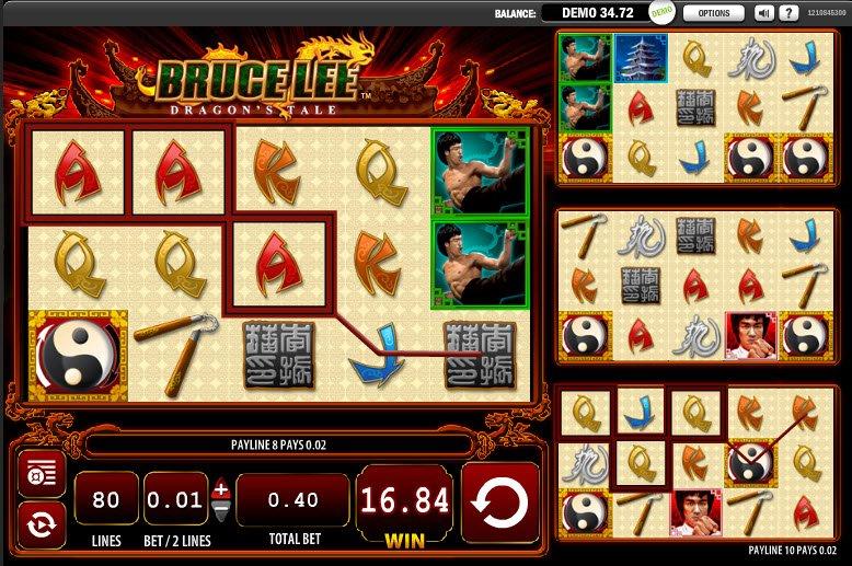 Bruce Lee Dragon's Tale Slots - Spela slots gratis online